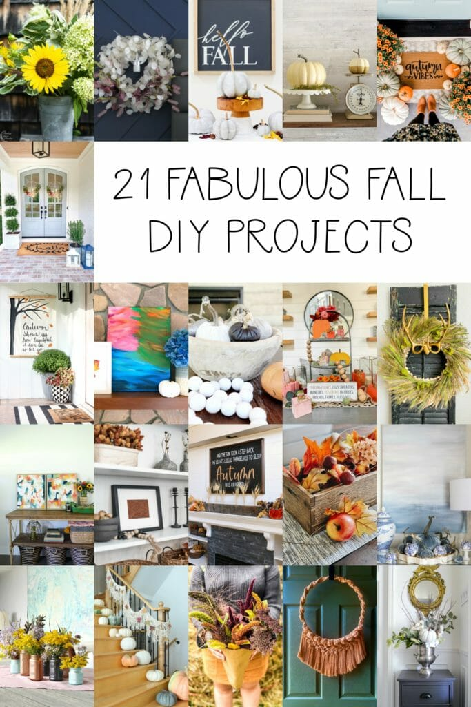 21 fall diy projects