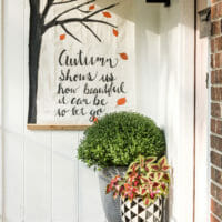How to Make a Fall Wall Hanging Banner