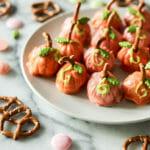cinderella pumpkin peanut butter balls