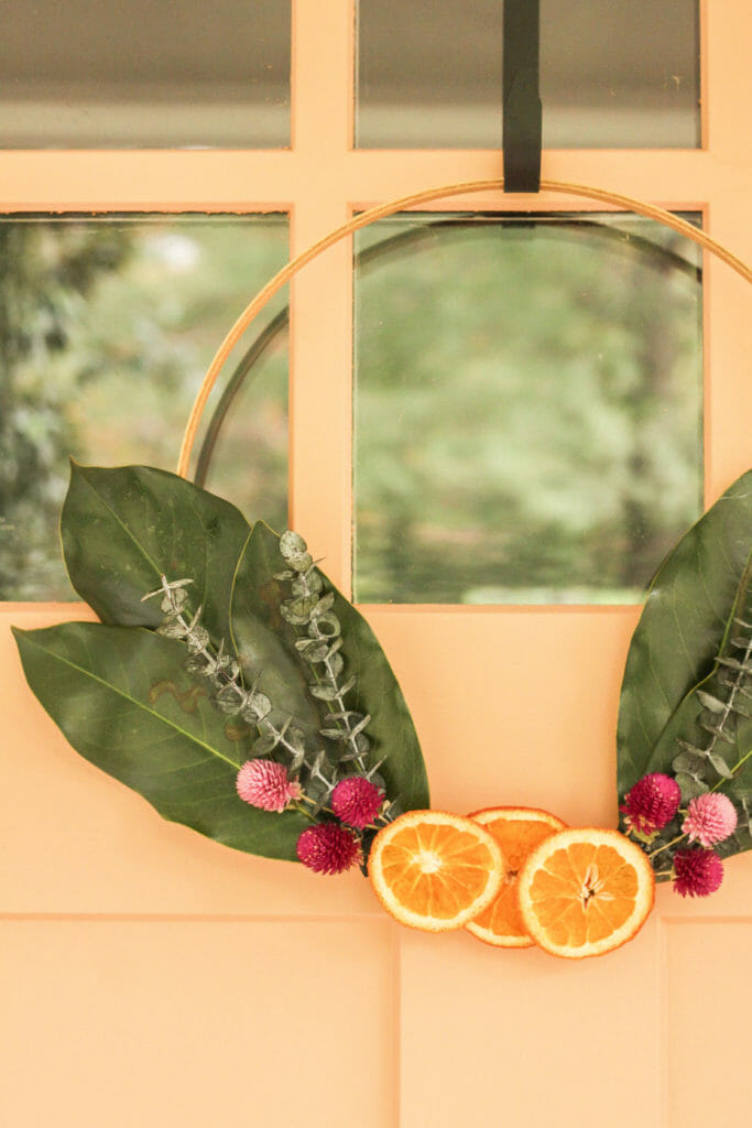 DIY Orange Slice Wreath