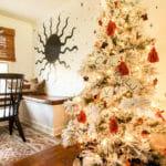 modern bohemian christmas tree