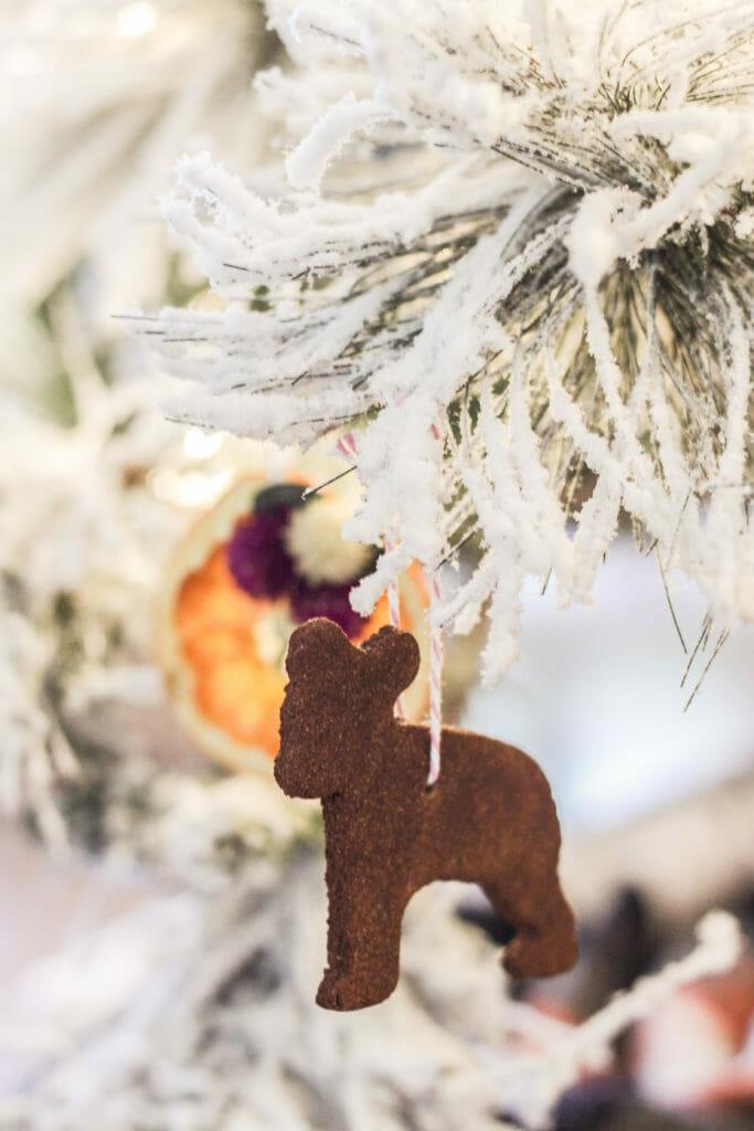 cinnamon bear ornament