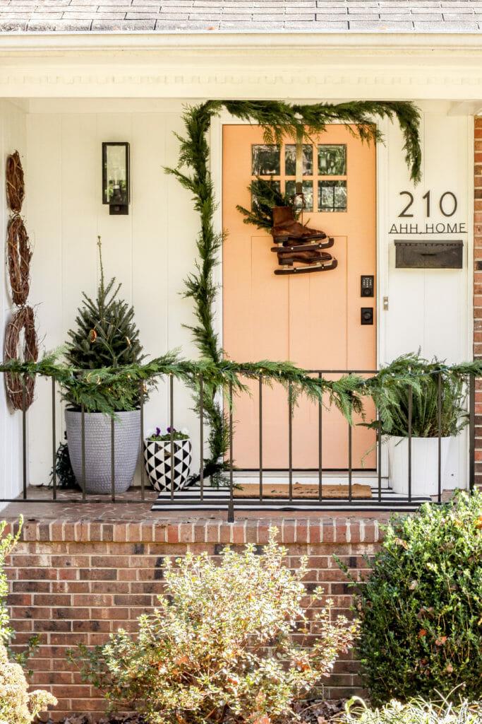vintage eclectic porch