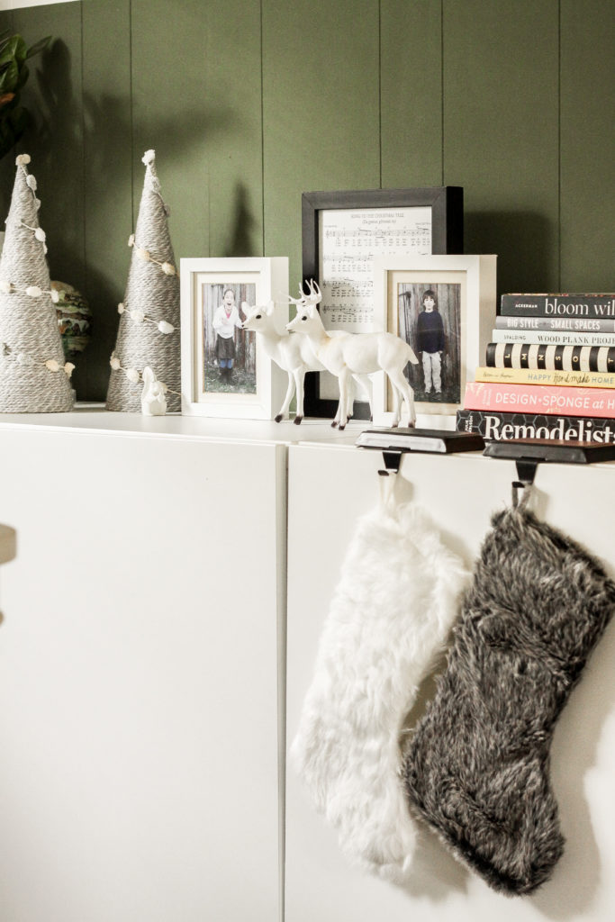 using a cabinet for stockings