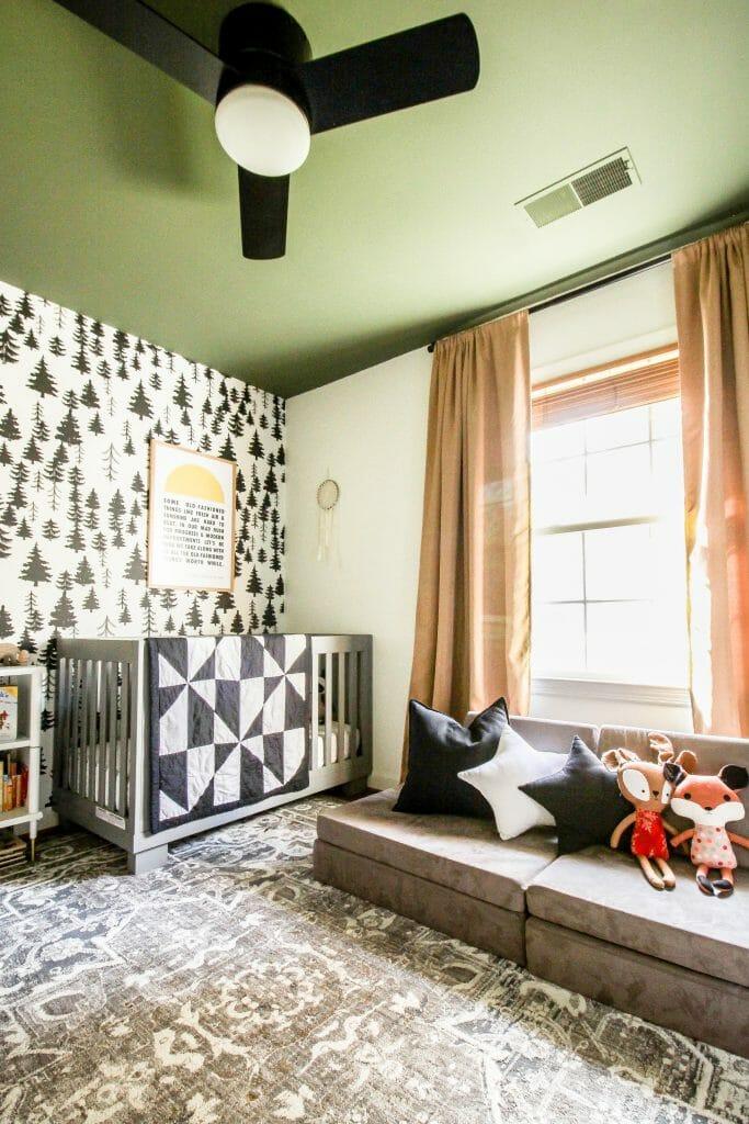 Neutral Toddler Christmas Bedroom
