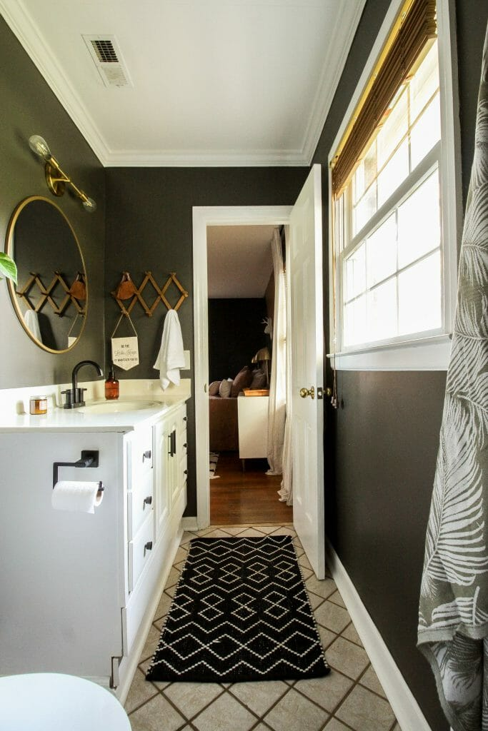 Urbane bronze Bathroom