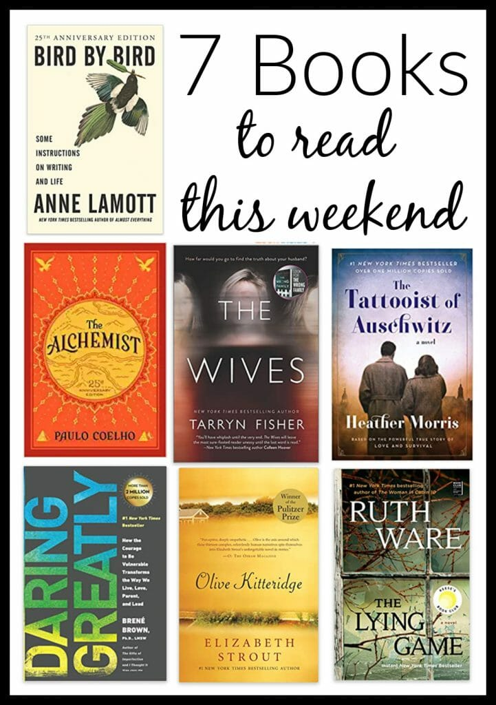 7 books to read this weekend