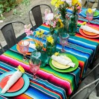 Colorful Summer Tour of Our Patio
