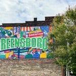 Downtown mural Greensboro