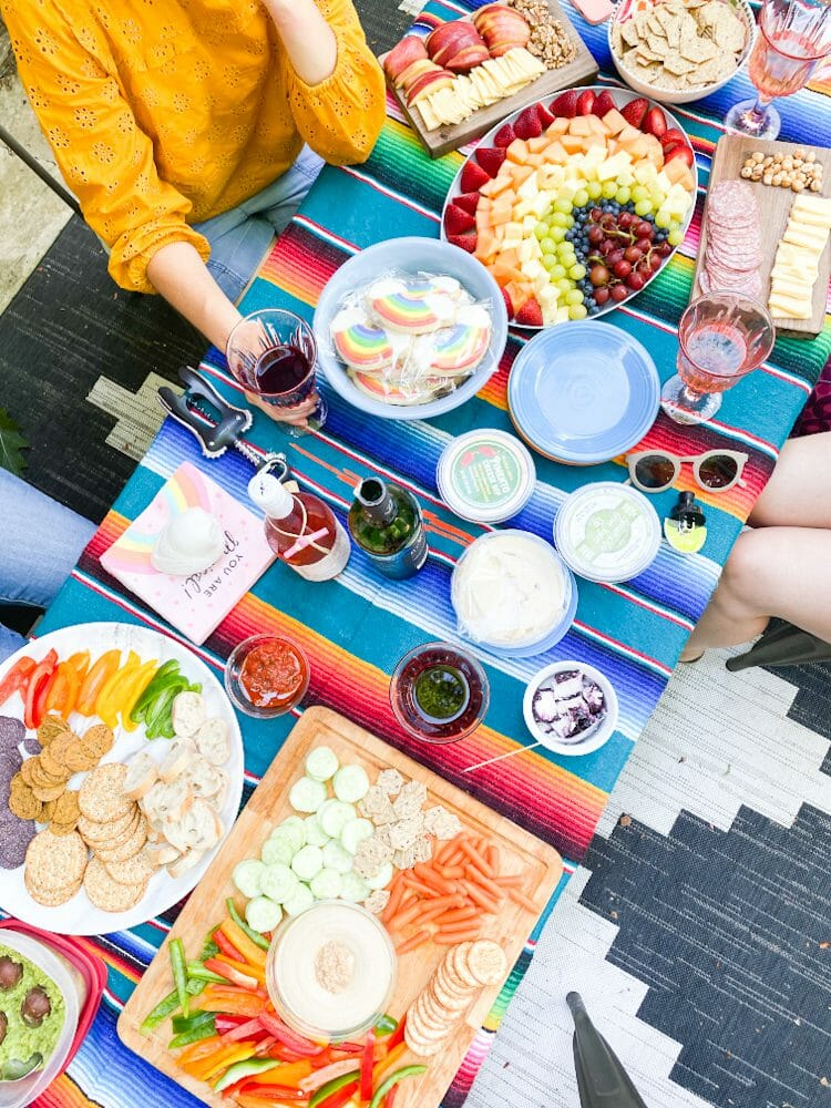 rainbow party foods